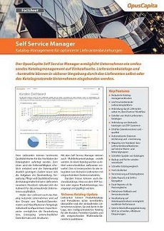 OpusCapita-Self-Service-Manager